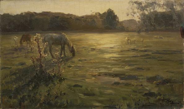 Mammal「Horses On The Meadow Artist: Klodt」:写真・画像(11)[壁紙.com]