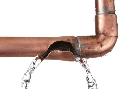 Leaking「broken leaking copper water pipe」:スマホ壁紙(7)