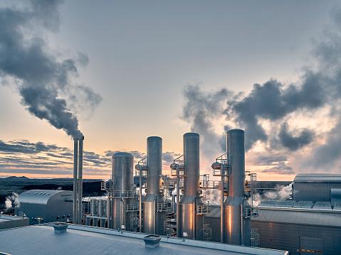 Heat - Temperature「Energy - Geothermal Power Plant」:スマホ壁紙(2)