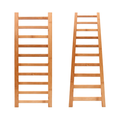 Opportunity「Ladder (Clipping path!) isolated on white background」:スマホ壁紙(16)