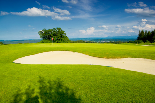 Sand Trap「Germany, Bavaria, Golf course」:スマホ壁紙(19)