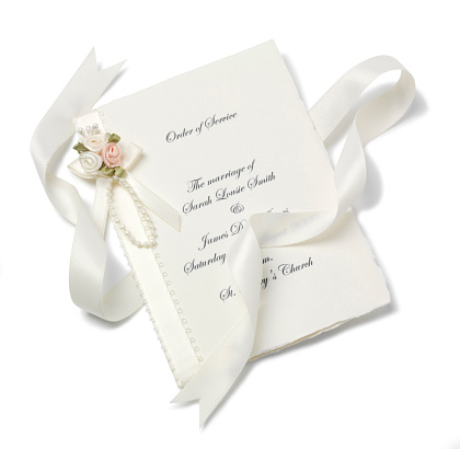 Wedding Invitation「order of service」:スマホ壁紙(9)