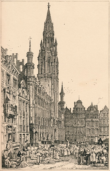 Circa 15th Century「'Brussels', C1820 (1915)」:写真・画像(19)[壁紙.com]