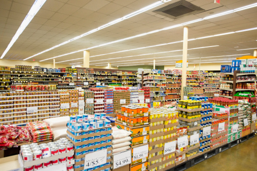 Abundance「Dry goods section of grocery store」:スマホ壁紙(13)