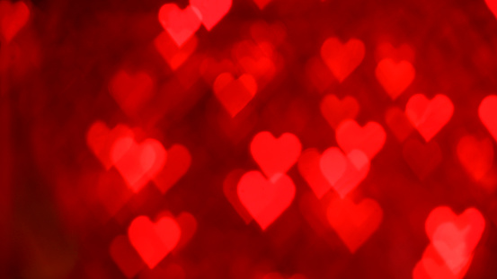 Heart「Red heart shaped lens flares」:スマホ壁紙(5)