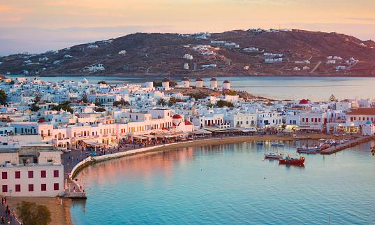 Greek Islands「Mykonos in Greece」:スマホ壁紙(17)