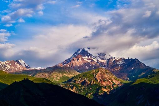 コーカサス山脈「Caucasus Mountains, Georgia」:スマホ壁紙(13)