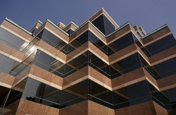 Rectangle「Architectural Patterns of Wilshire Blvd Building」:写真・画像(6)[壁紙.com]
