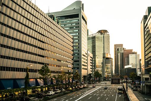 Satoyama - Scenery「Street in Osaka, Japan in the Morning」:スマホ壁紙(14)