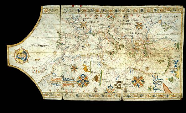 Mediterranean Sea「Portolan Chart Of The Mediterranean Sea」:写真・画像(4)[壁紙.com]