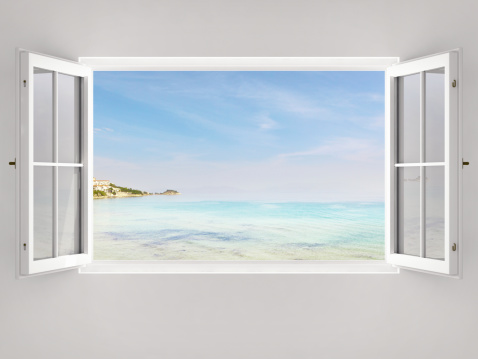 Looking At View「Open Window With Ocean View」:スマホ壁紙(15)