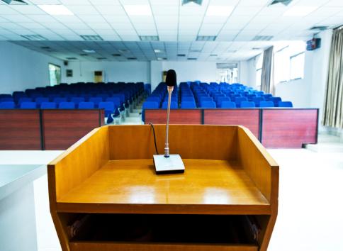 Convention Center「Speaker's table」:スマホ壁紙(12)