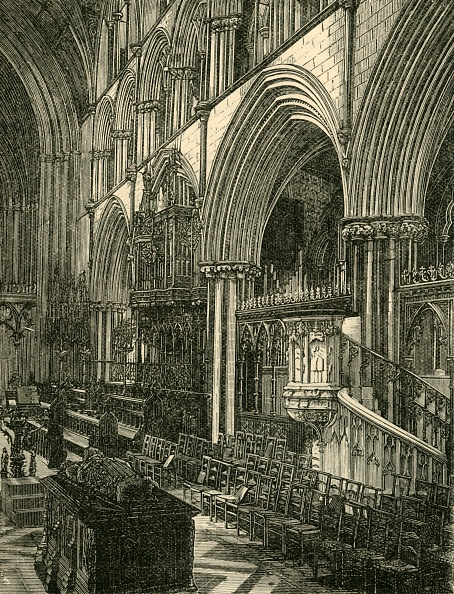Bench「The Choir Of Worcester Cathedral」:写真・画像(10)[壁紙.com]