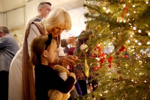 Tree「Clarence House Christmas Tree Photocall」:写真・画像(1)[壁紙.com]