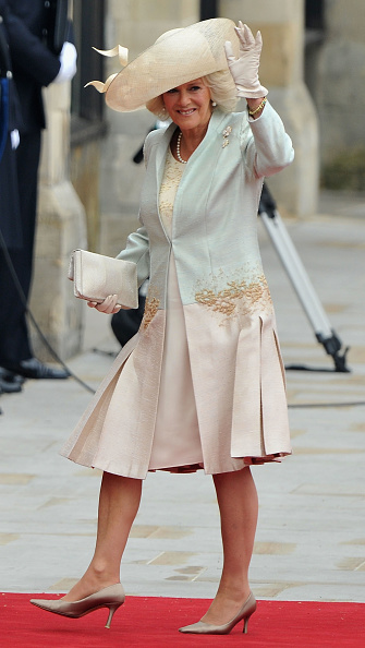 High Heels「Royal Wedding - Wedding Guests And Party Make Their Way To Westminster Abbey」:写真・画像(4)[壁紙.com]