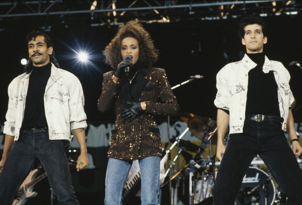 Dave Hogan「Whitney Houston」:写真・画像(9)[壁紙.com]