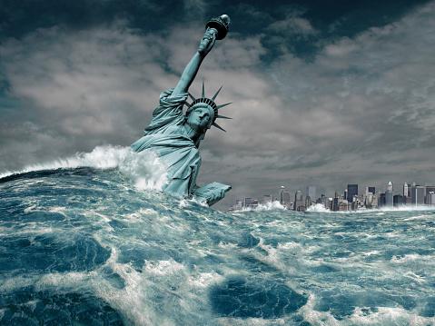 Liberty Island「New York Flood Disaster」:スマホ壁紙(16)