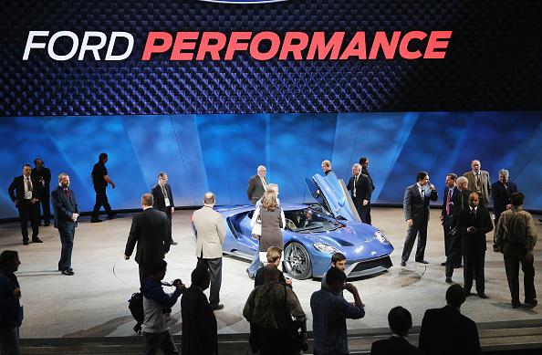 フォード・GT「Detroit Hosts Annual North American International Auto Show」:写真・画像(14)[壁紙.com]