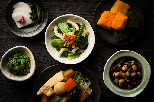 Preparing Food「Japanese traditional home cooking」:スマホ壁紙(2)