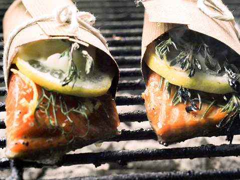 Ketogenic Diet「Cedar Plank Salmon with Lemon and Herbs」:スマホ壁紙(18)