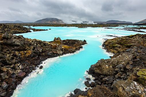 Volcanic Landscape「Blue Lagoon, Iceland, Europe」:スマホ壁紙(16)
