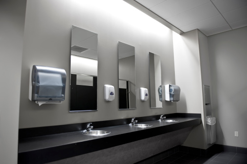 Public Restroom「Restroom Sinks」:スマホ壁紙(15)