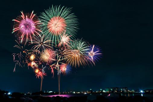 花火「Cyofu city Firework Festival」:スマホ壁紙(4)