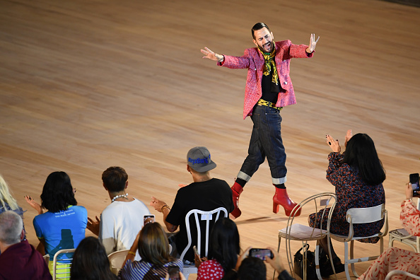 The End「Marc Jacobs Spring 2020 Runway Show - Front Row」:写真・画像(4)[壁紙.com]