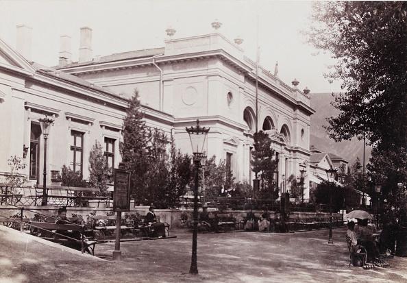 Spa「Merano: Spa Building. About 1895. Photograph By S. Pötzelberger / Meran. Photograph.」:写真・画像(8)[壁紙.com]