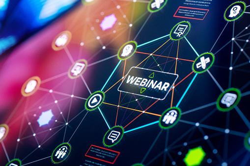 E-commerce「Webinar services presentation and infographics」:スマホ壁紙(3)