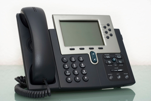 Cable「Digital VoIP phone, white background」:スマホ壁紙(12)
