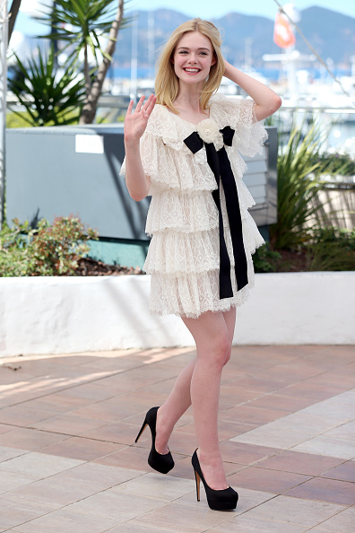 """Elle Fanning「""""The Neon Demon"""" Photocall - The 69th Annual Cannes Film Festival」:写真・画像(0)[壁紙.com]"""