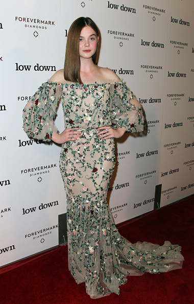 "Elle Fanning「Premiere Of Oscilloscope Laboratories' ""Lowdown"" - Red Carpet」:写真・画像(19)[壁紙.com]"