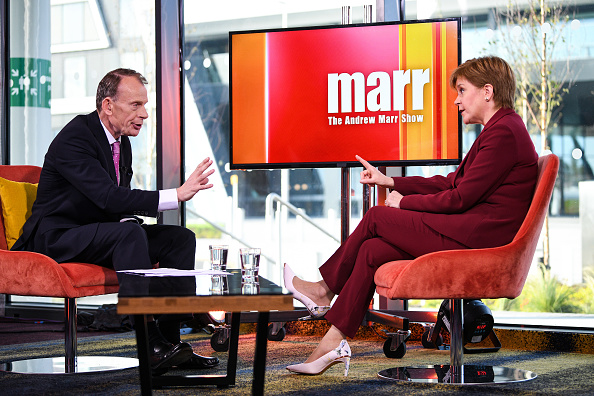 Showing「Scottish First Minister Nicola Sturgeon Appears On The Andrew Marr Show」:写真・画像(10)[壁紙.com]