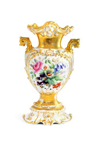 Antique「antique biedermeier (time 1815-1840) vase with flowers」:スマホ壁紙(18)