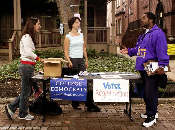 Anticipation「Voter Registration on College Campus in Philadelphia」:写真・画像(13)[壁紙.com]