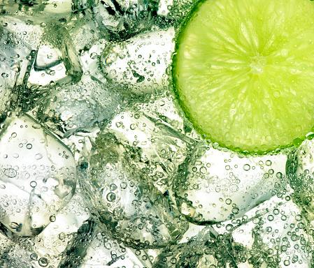 Lime「Ice and lime」:スマホ壁紙(6)