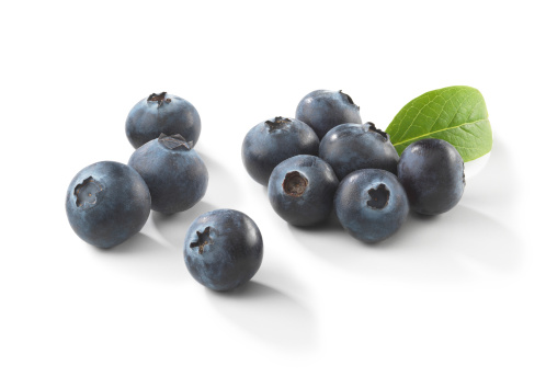 Blueberry「Blueberries with Leaf」:スマホ壁紙(7)
