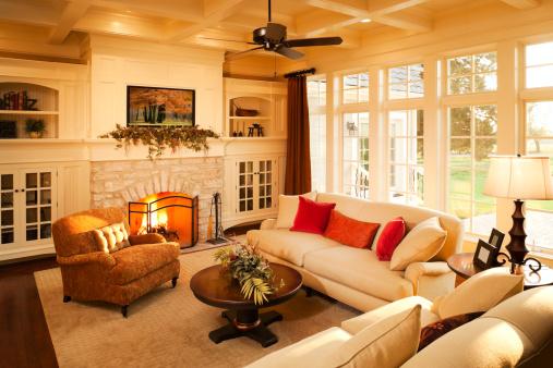 Heat - Temperature「Warm elegant sunlit living room.」:スマホ壁紙(11)