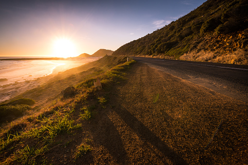 Peninsula「Misty Cliffs beach near Scarborough, South Africa」:スマホ壁紙(18)