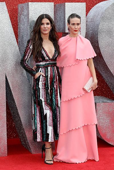 Layered Dress「'Ocean's 8' UK Premiere - Red Carpet Arrivals」:写真・画像(13)[壁紙.com]