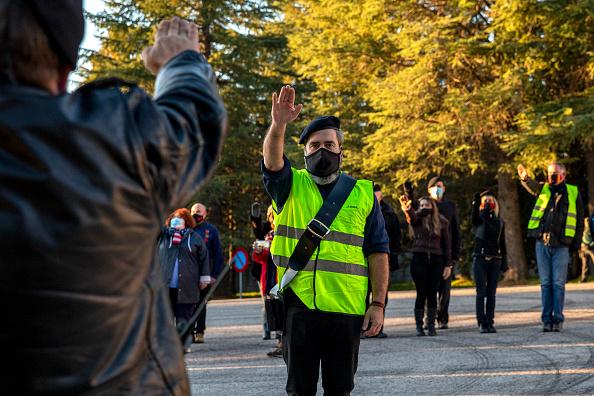 Pablo Blazquez Dominguez「Spanish Far Right Supporters Gather To Remember Falange Movement Founder」:写真・画像(3)[壁紙.com]