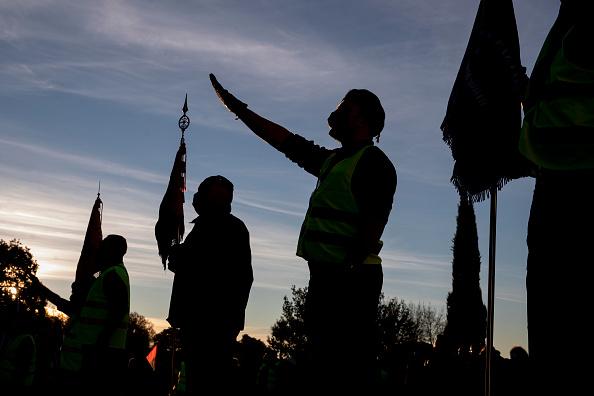 Pablo Blazquez Dominguez「Spanish Far Right Supporters Gather To Remember Falange Movement Founder」:写真・画像(2)[壁紙.com]