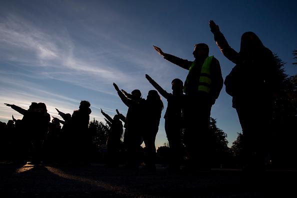 Pablo Blazquez Dominguez「Spanish Far Right Supporters Gather To Remember Falange Movement Founder」:写真・画像(4)[壁紙.com]