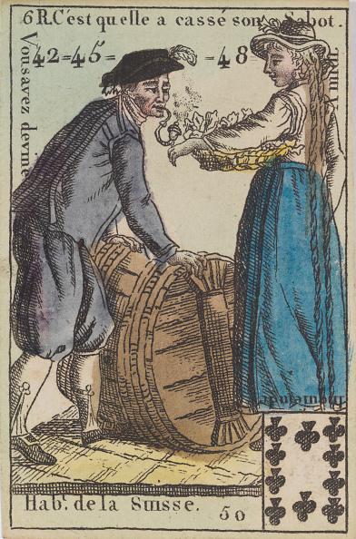 Recreational Pursuit「HabT De La Suisse From Playing Cards (For Quartets) Costumes Des Peuples,」:写真・画像(18)[壁紙.com]