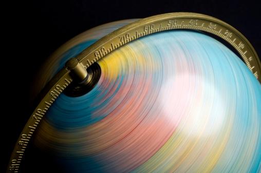 Spinning「Spinning Globe」:スマホ壁紙(6)
