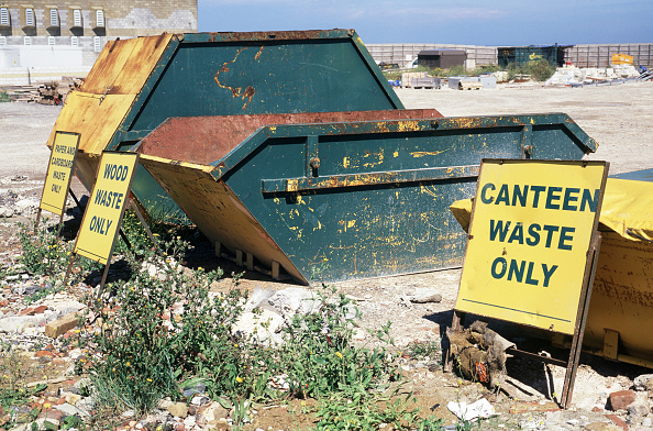 Business Finance and Industry「Skips for various waste types on a site in Kent」:写真・画像(19)[壁紙.com]