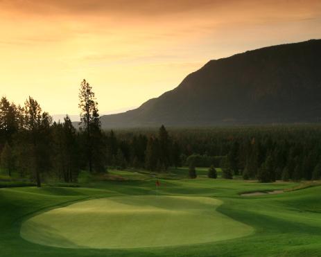 British Columbia「Golf Scenic」:スマホ壁紙(2)