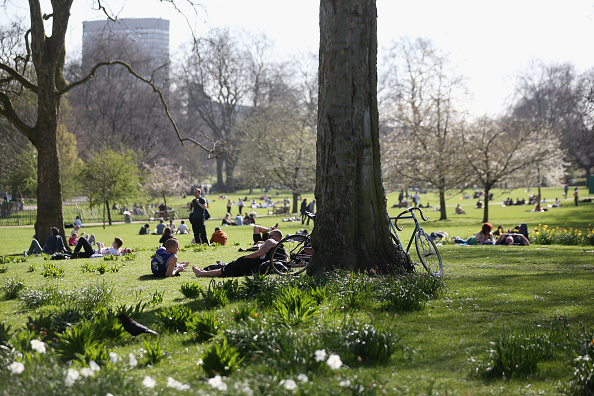 Heat - Temperature「Spring Weather Finally Arrives In The UK」:写真・画像(14)[壁紙.com]