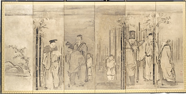 East Asia「Seven Sages Of The Bamboo Grove」:写真・画像(13)[壁紙.com]